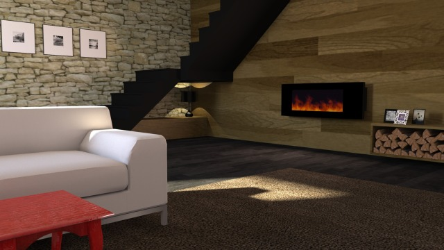 Lounge with fireplace1