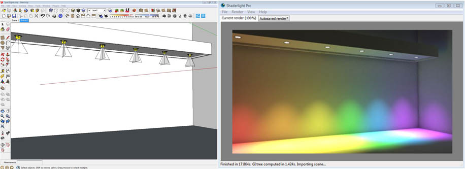 learn about lighting shaderlight