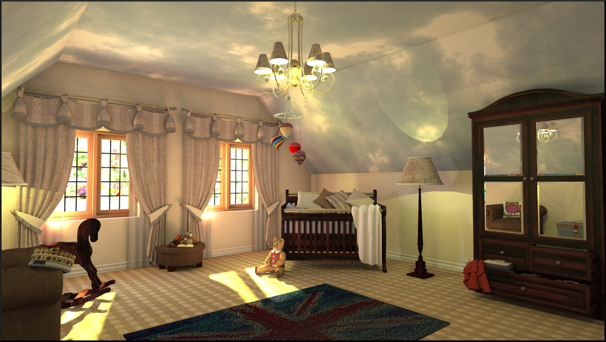 Shaderlight the only rendering partner you need for sketchup for 3d room decoration